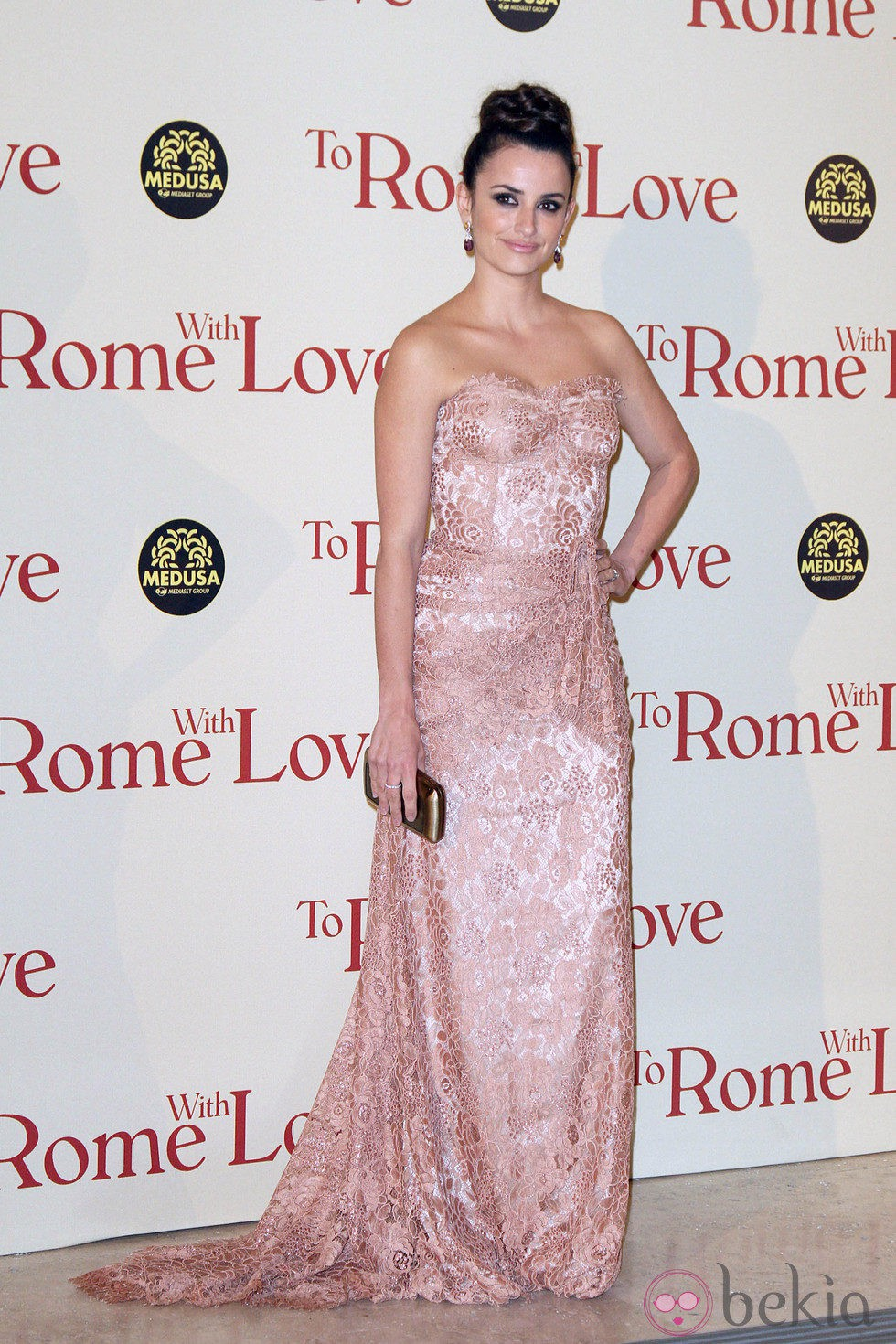 Penélope Cruz en el estreno de 'To Rome With Love' en Roma