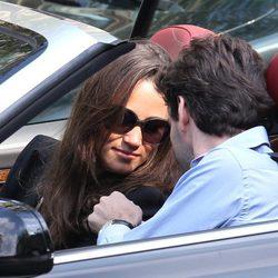 Pippa Middleton pasa el fin de semana en Paris