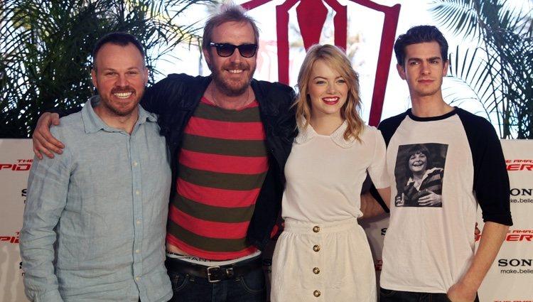 El equipo de 'The Amazing Spiderman' presentan la película en México