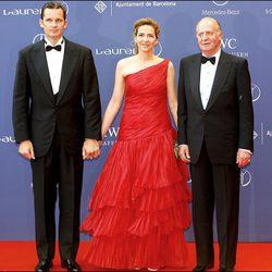 La Infanta Cristina, Iñaki Urdangarín y el Rey Juan Carlos