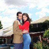 Ángel Caballero y Ana Caldas como Paquirri y Carmina Ordoñez en 'Carmina'