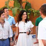 Miguel Fernandez y Patricia Vico como Carmina Ordoñez y Julián Contreras en 'Carmina'