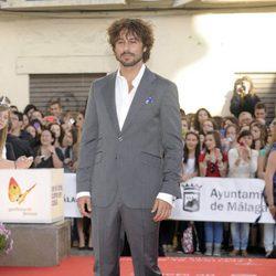 Hugo Silva en la apertura del Festival de Málaga 2012