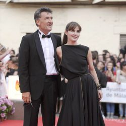 Ana Fernández y Francis Lorenzo en la apertura del Festival de Málaga 2012