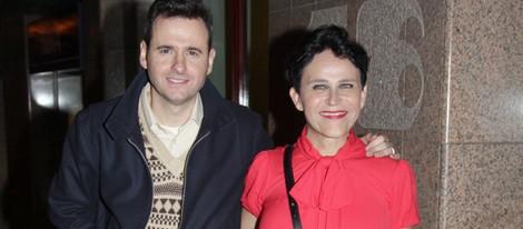 Luis Miguel Seguí y Antonia San Juan en el cumpleaños de Elena Benarroch