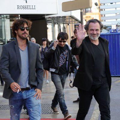 Hugo Silva y José Coronado tras la presentación de 'El Cuerpo' en el Festival de Málaga 2012
