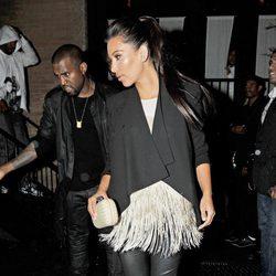 Kim Kardashian y Kanye West pasean su amor por las calles de Nueva York