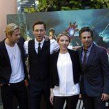 Los actores de 'Los Vengadores', de promoción en Roma