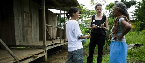 Angelina Jolie viaja a Ecuador como representante del Alto Comisionado de los Refugiados