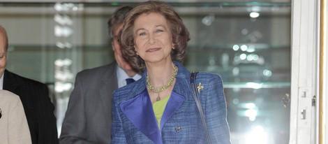 La Reina Sofía inaugura una exposición en el Palacio Real