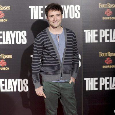 Pablo Nieto en el estreno de 'The Pelayos'