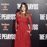 Blanca Suárez en el estreno de 'The Pelayos'