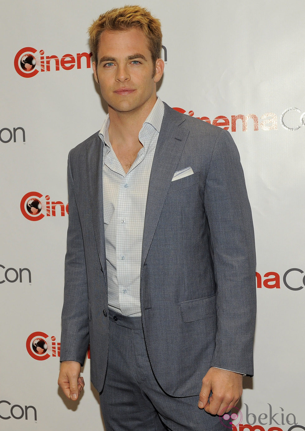 Chris Pine en la CinemaCon 2012