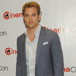 Chris Pine en la CinemaCon 2012
