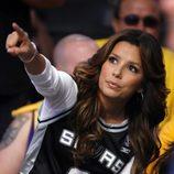 Eva Longoria es una fan de la NBA