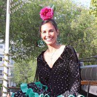 Inés Sastre en la Feria de Abril de Sevilla 2012