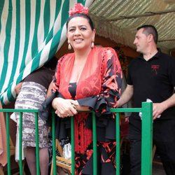 María del Monte en la Feria de Abril de Sevilla 2012