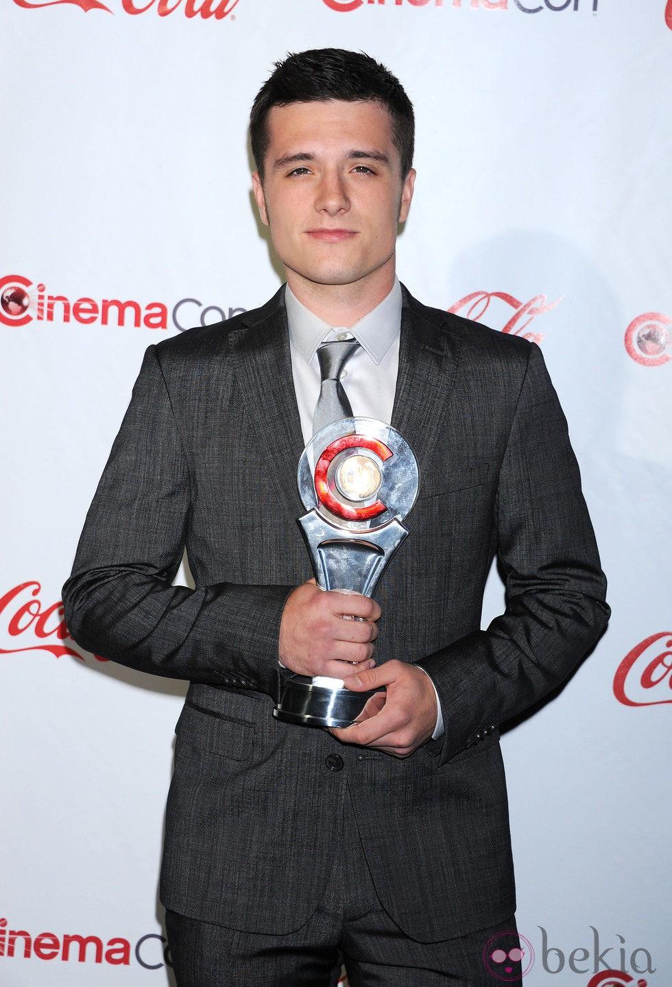 Josh Hutcherson en la CinemaCon 2012