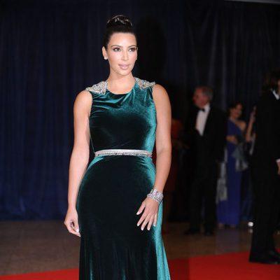 Kim Kardashian en la cena de corresponsales de la Casa Blanca