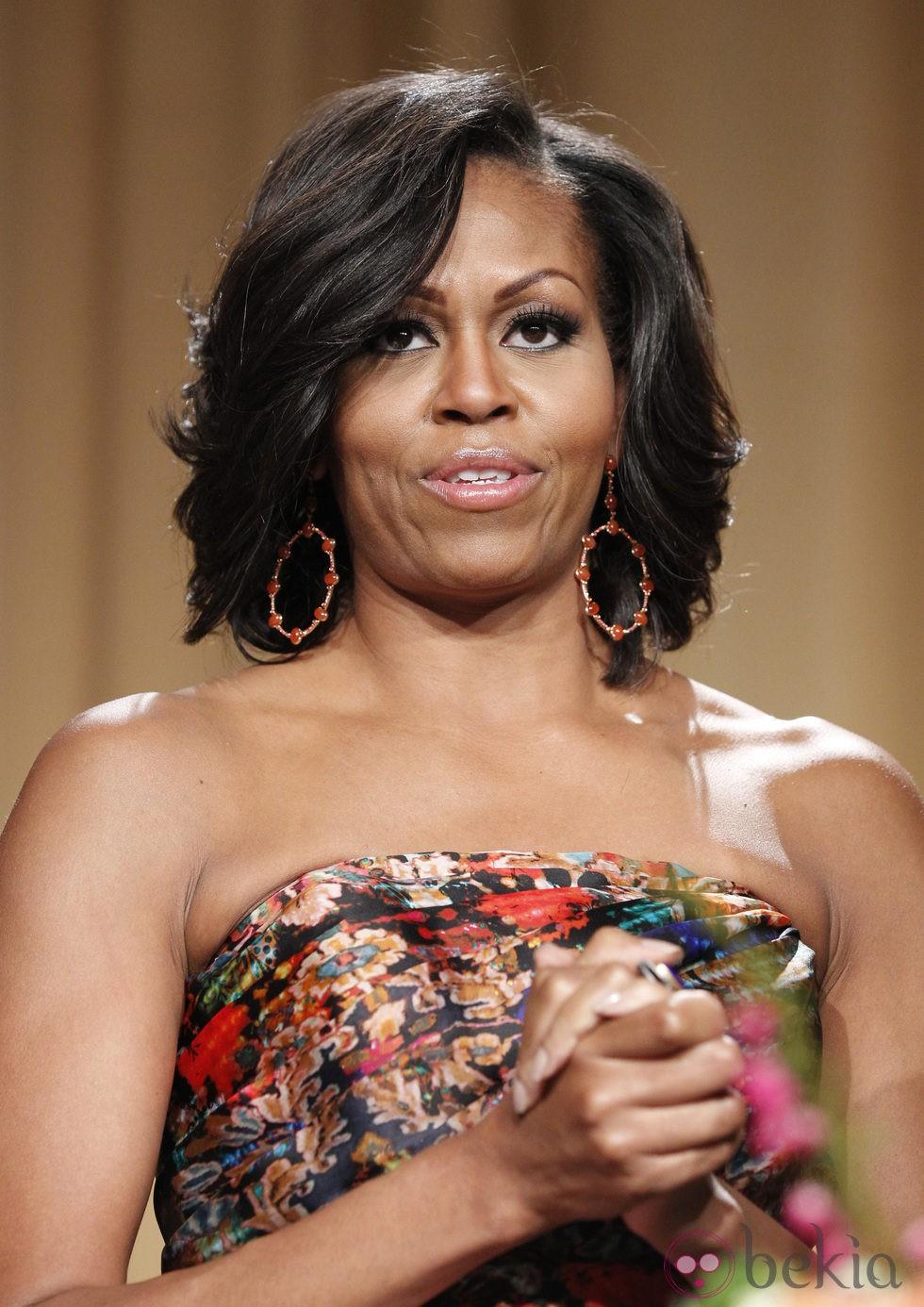 Michelle Obama en la cena de corresponsales de la Casa Blanca
