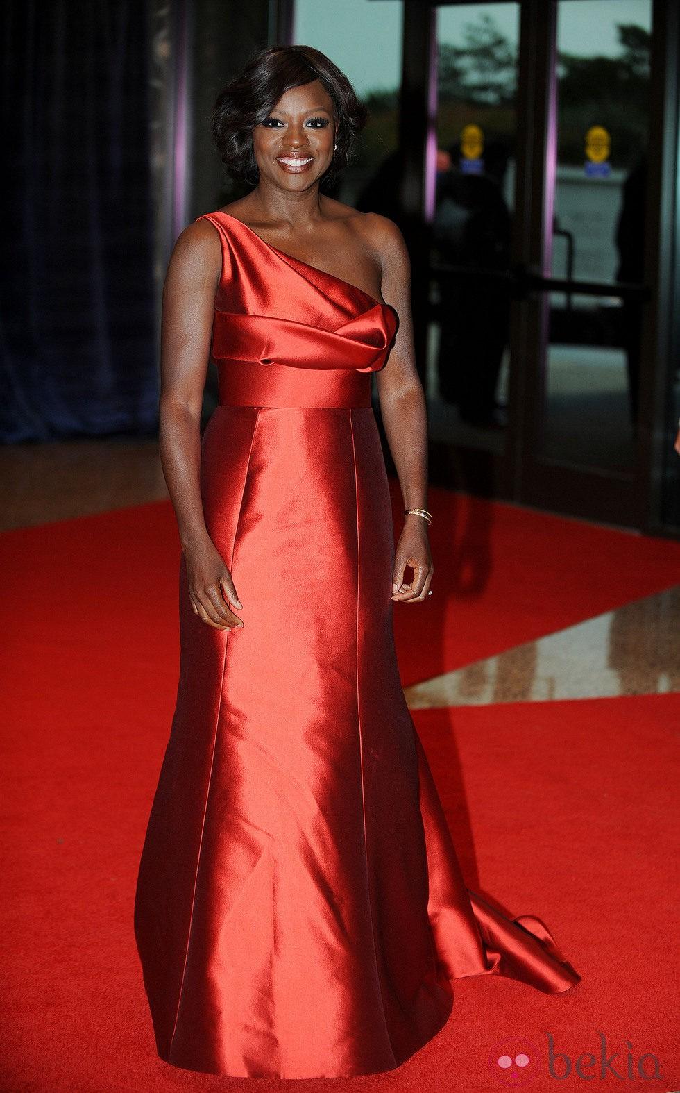 Viola Davis en la cena de corresponsales 2012
