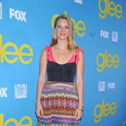 Heather Morris en la fiesta de 'Glee' organizada por Fox