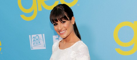 Lea Michele en la fiesta de 'Glee' organizada por Fox
