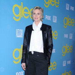 Jane Lynch en la fiesta de 'Glee' organizada por Fox