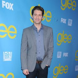 Matthew Morrison en la fiesta de 'Glee' organizada por Fox