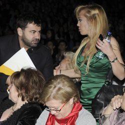 Jorge Javier Vázquez y Belén Esteban en el concierto de Isabel Pantoja de Madrid