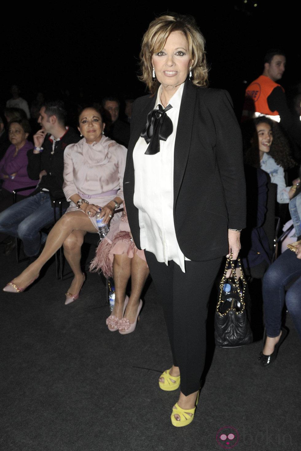 María Teresa Campos en el concierto de Isabel Pantoja en Madrid