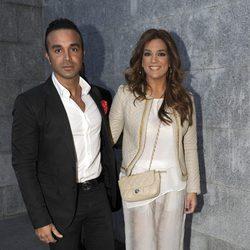 Luis Rollán y Raquel Bollo en el concierto de Isabel Pantoja en Madrid