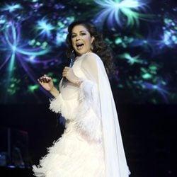 Isabel Pantoja ofrece un concierto en el Palacio de los Deportes de Madrid