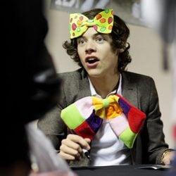 Harry Styles, disfrazado de payaso