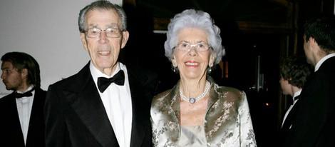 El Conde Carl Johan Bernadotte y Gunilla Wachtmeister