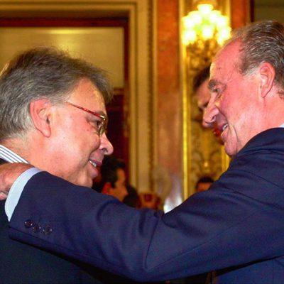 Felipe González y el Rey Don Juan Carlos