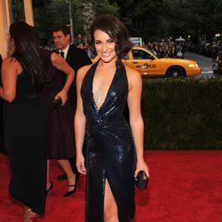 Lea Michele en la alfombra roja de la Gala del MET 2012