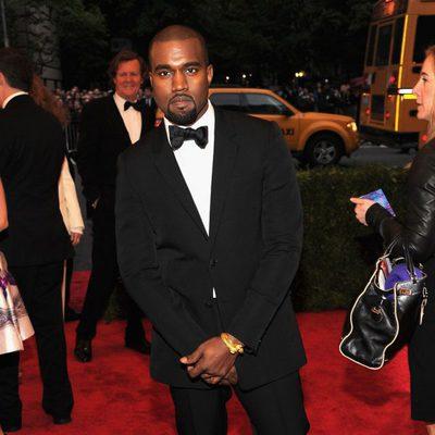 Kanye West en la alfombra roja de la Gala del MET 2012