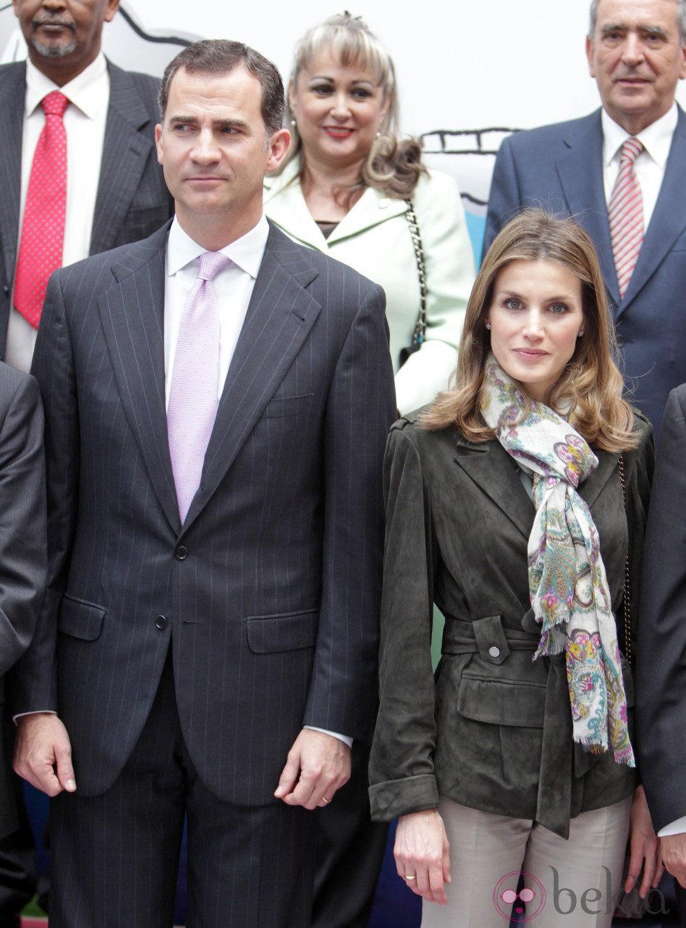 Los Príncipes de Asturias en el Día Mundial de la Cruz Roja