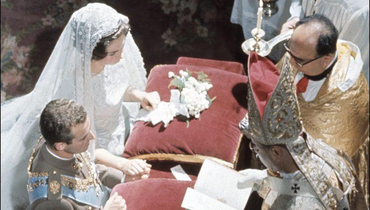 Boda de los Reyes Don Juan Carlos y Doña Sofía en Atenas en 1962