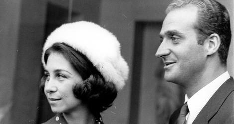Don Juan Carlos y Doña Sofía en los primeros años de su matrimonio