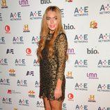 Lindsay Lohan en la fiesta AETN