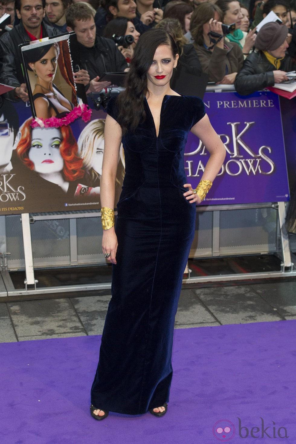 Eva Green en el estreno de 'Dark Shadows' en Londres