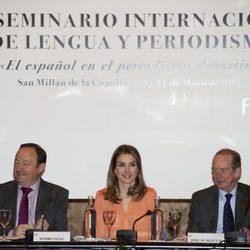 Doña Letizia en el VII Seminario Internacional de Lengua y Periodismo