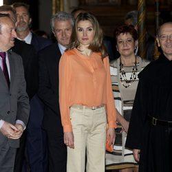La Princesa Letizia en la inauguración del VII Seminario Internacional de Lengua y Periodismo