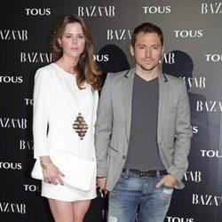 Amelia Bono y Manuel Martos en la fiesta organizada por Tous y Harper's Bazaar