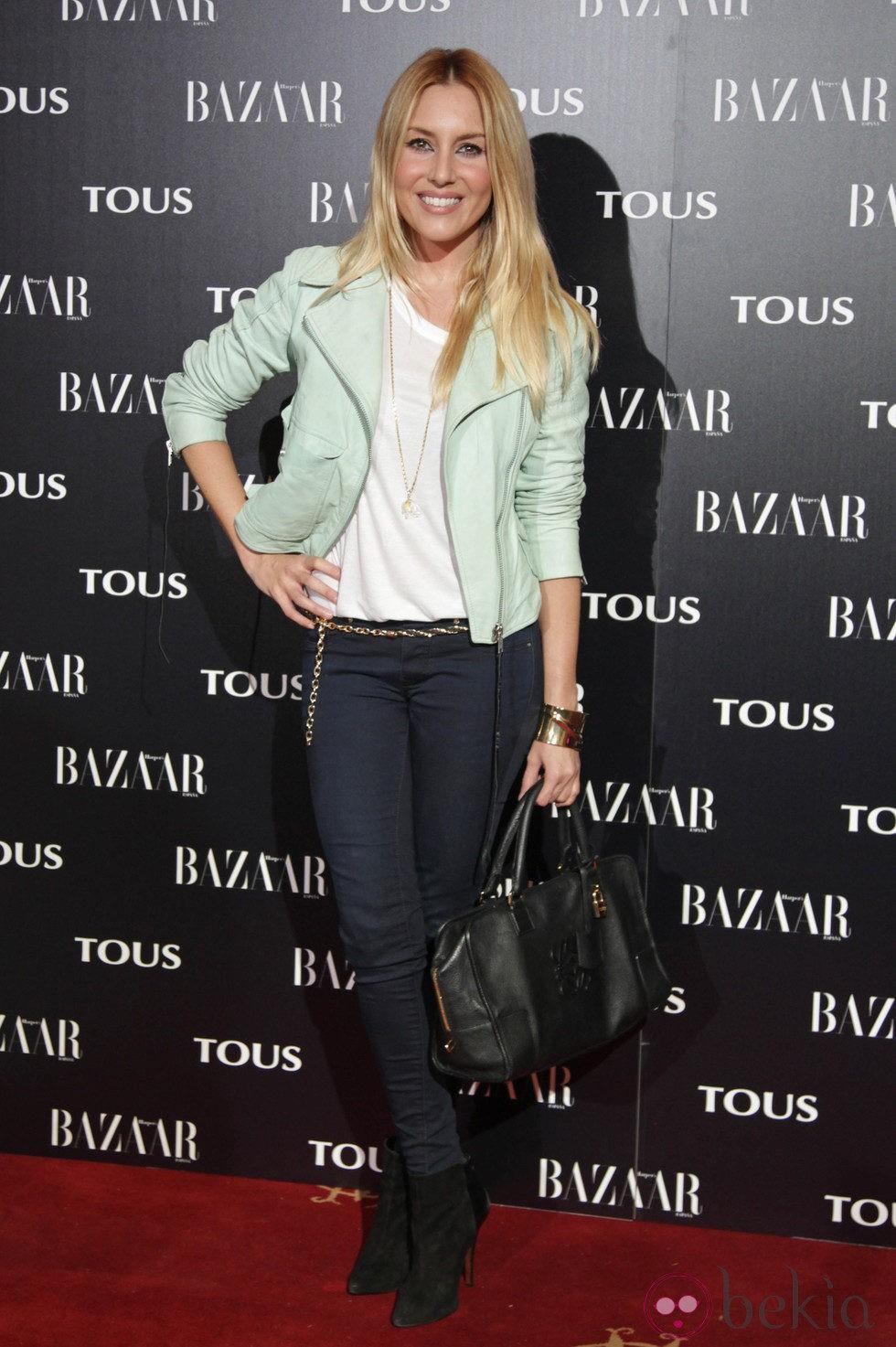 Berta Collado en la fiesta organizada por Tous y Harper's Bazaar
