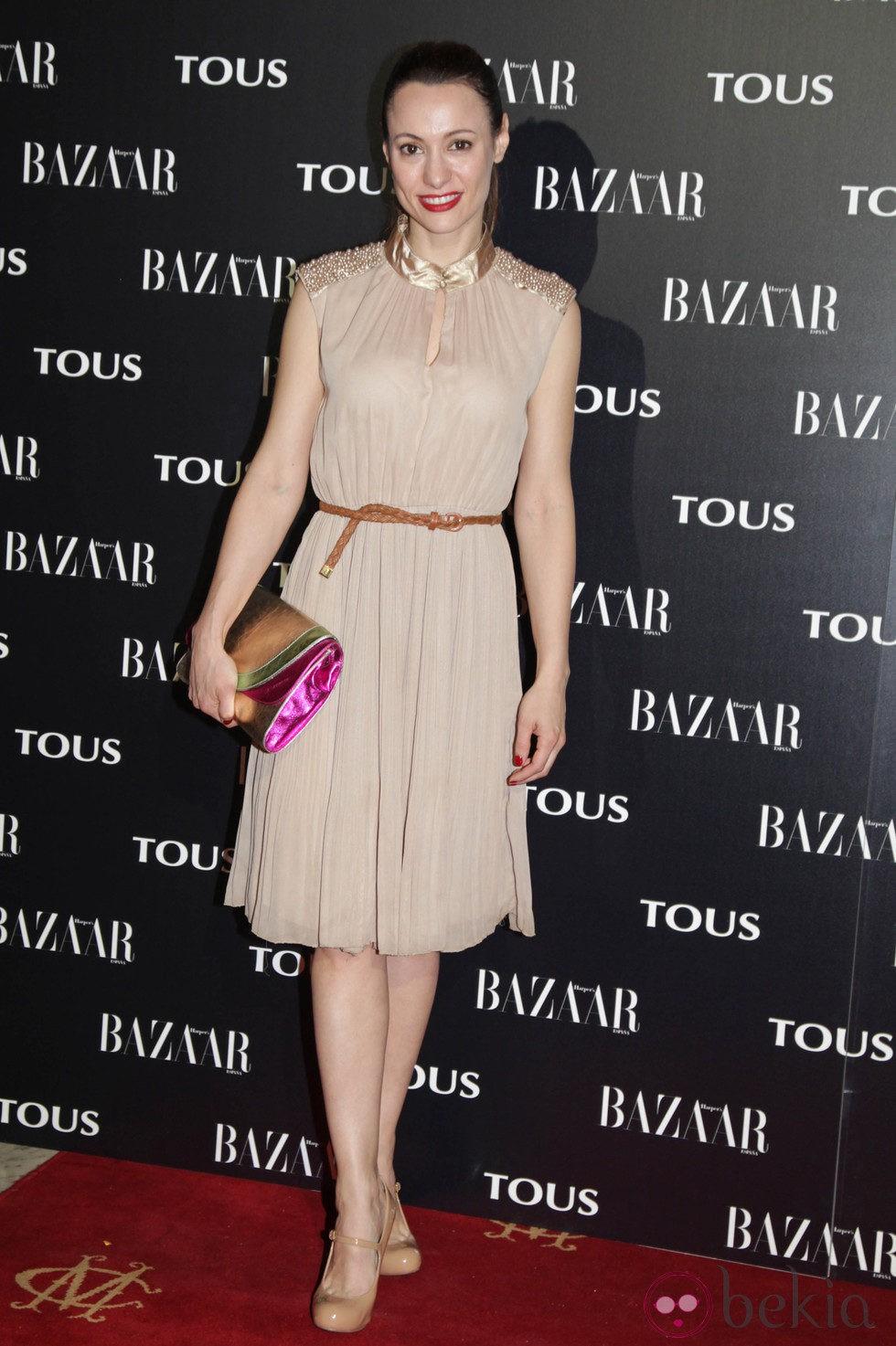 Natalia Verbeke en la fiesta organizada por Tous y Harper's Bazaar