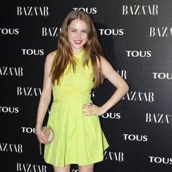 Carla Nieto en la fiesta organizada por Tous y Harper's Bazaar