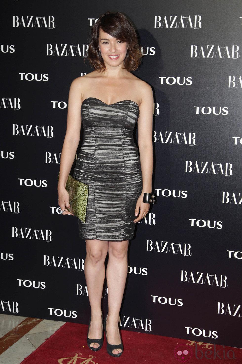 Verónica Sánchez en la fiesta organizada por Tous y Harper's Bazaar